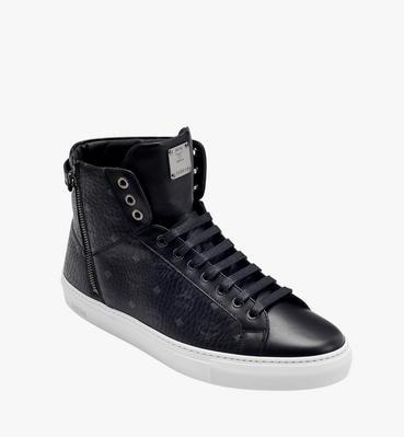 Men's High Top Turnlock Sneakers in Visetos