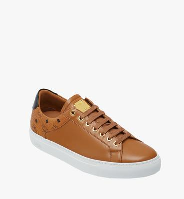 Men's Low Top Classic Sneakers in Leather