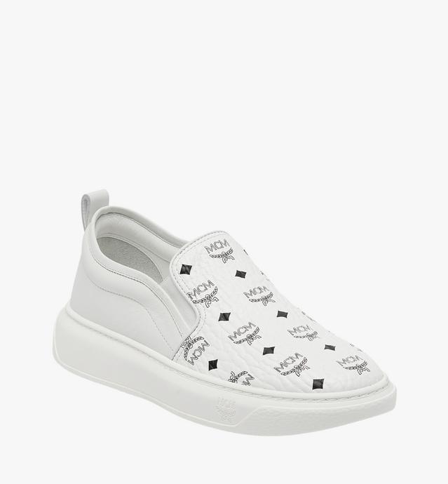 Men's Slip On Sneakers in Visetos