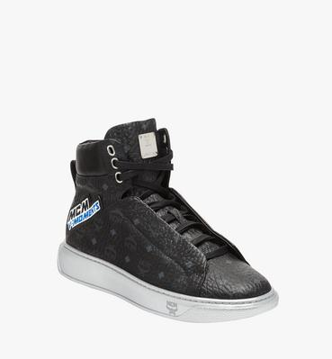 Men's High Top Victory Patch Sneakers in Visetos