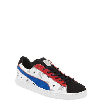 38 Puma x MCM Suede Classic Sneakers White | MCM
