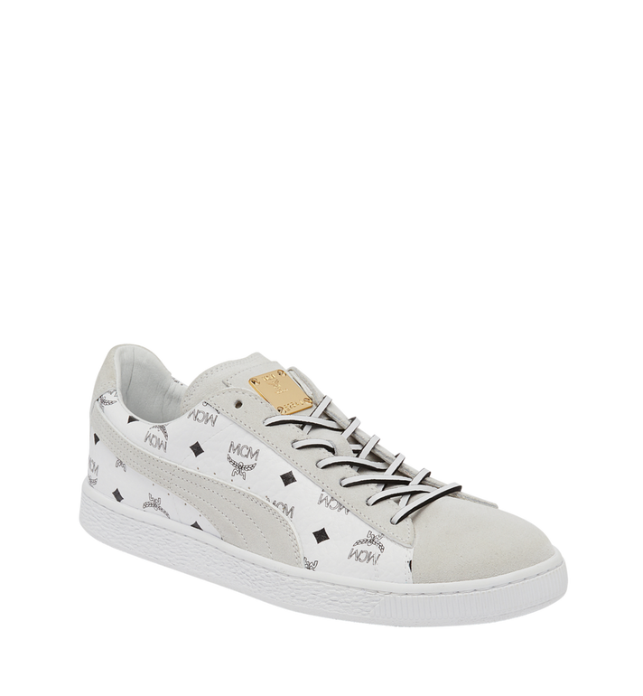 40dd326bebb MCM Puma x MCM Suede Classic Sneakers MEX8SMM50WT410 AlternateView