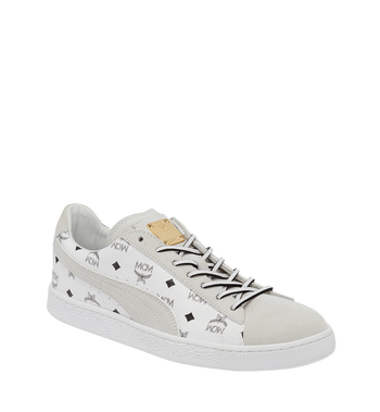 41 Puma x MCM Suede Classic Sneakers White | MCM