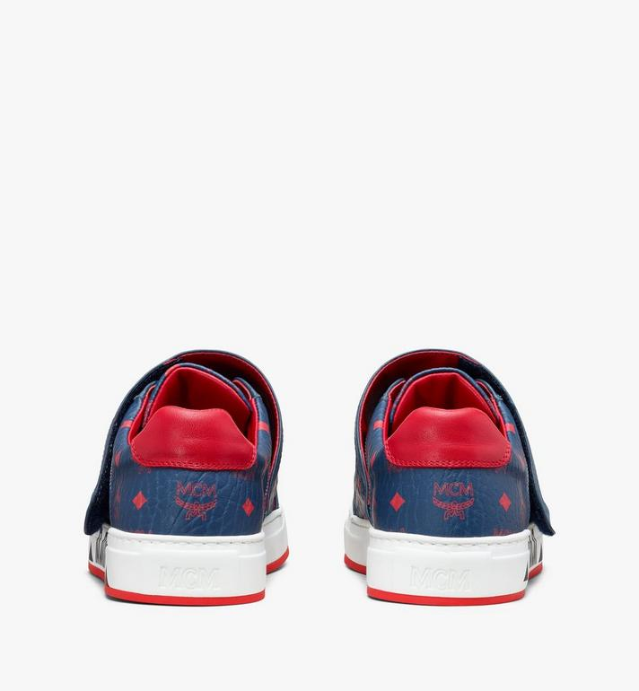 MCM 男款Milano低帮运动鞋 Blue MEX9ADA01VS043 Alternate View 3