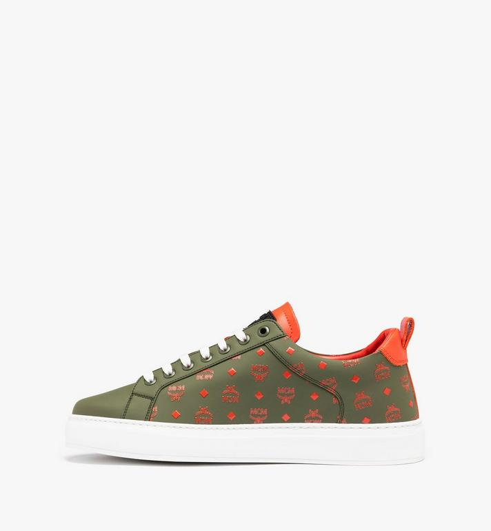 MCM Low Top Herrensneaker in Visetos  MEX9AMM60G8041 Alternate View 3