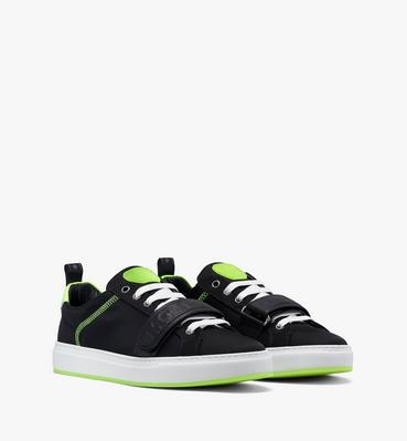Men's Low-Top Velcro Sneaker in Nylon