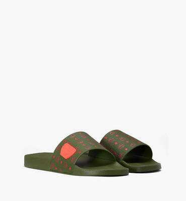 Men's Monogram Rubber Slides