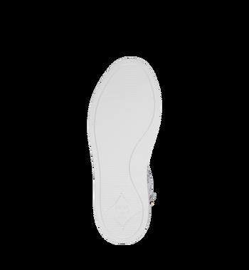 MCM Men's Classic High Top Sneakers in Visetos White MEX9SMM02WT041 Alternate View 5