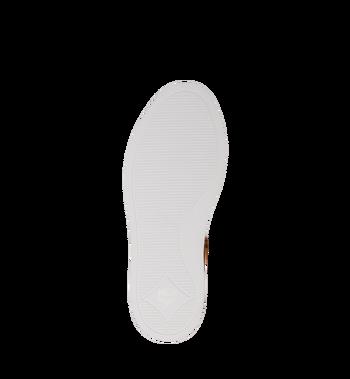 MCM Men's Classic Low Top Sneakers in Visetos Cognac MEX9SMM04CO041 Alternate View 5