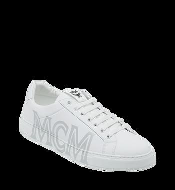 MCM 男士 Logo 皮革低筒運動鞋 Alternate View
