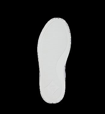 MCM 男士 Logo 皮革低筒運動鞋 White MEX9SMM16WT043 Alternate View 5