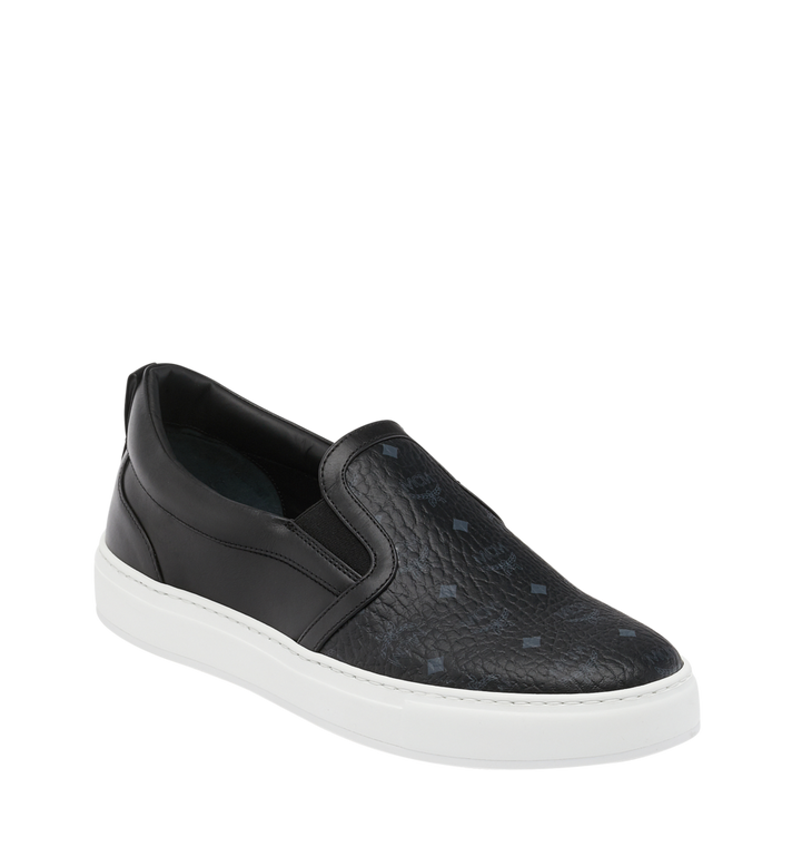 MCM Men's Slip On Sneakers in Visetos Alternate View