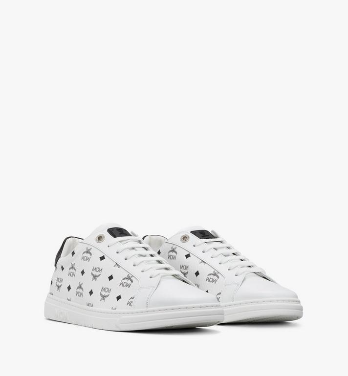 MCM Men's Terrain Lo Sneakers in Visetos Alternate View