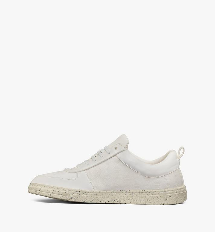 MCM รองเท้าผ้าใบสำหรับผู้ชาย Terrain Lo ผลิตจากวัสดุที่ยั่งยืน White MEXAAMM14WT041 Alternate View 2