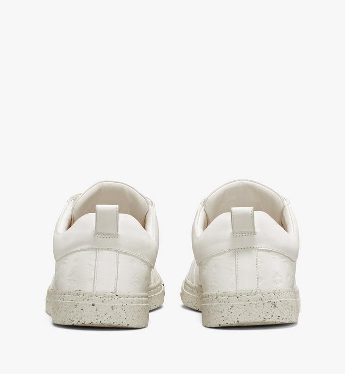 MCM Men's Sustainable Terrain Lo Sneakers White MEXAAMM14WT043 Alternate View 3