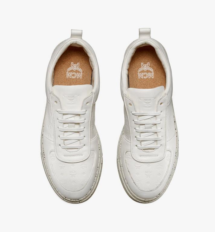 MCM Men's Sustainable Terrain Lo Sneakers White MEXAAMM14WT043 Alternate View 4