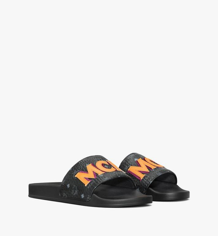 MCM Men's MCM Monogram Slides Alternate View
