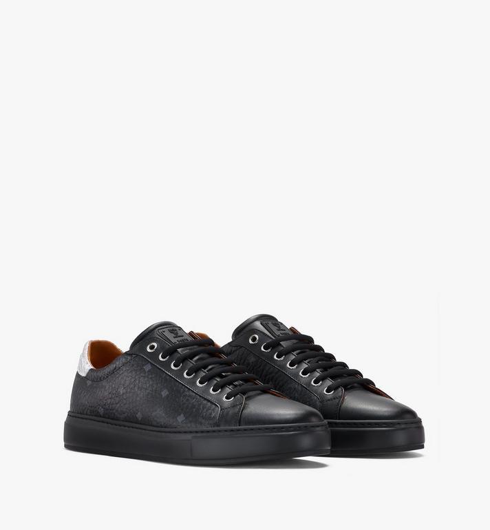 MCM Men's Low-Top Sneakers in Visetos Alternate View