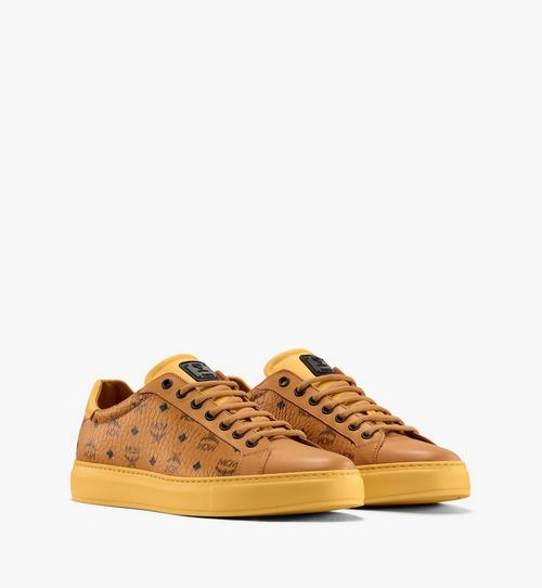 Men's Classic Low-Top Sneakers in Visetos
