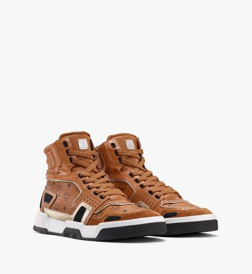 Men's Skyward High-Top Sneakers in Visetos