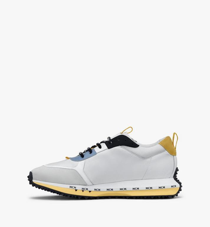 MCM Mach 76 Sneaker für Herren White MEXASMM34WT041 Alternate View 4