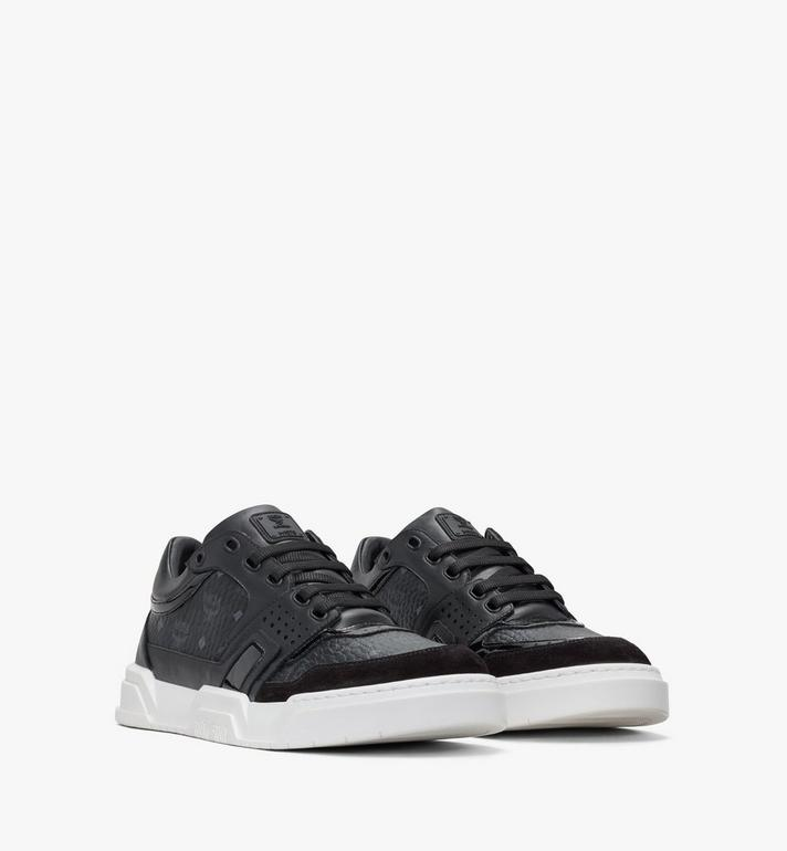 MCM Men's Skyward Lo Sneakers in Visetos Alternate View