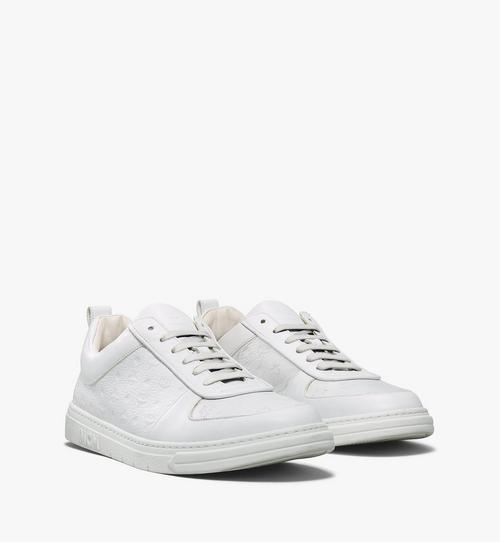 รองเท้าผ้าใบ Sustainable Terrain Lo วัสดุหนังลายโมโนแกรมสำหรับผู้ชาย