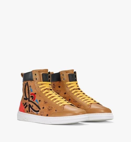 Men's Terrain Hi Sneakers in Geo Laurel Visetos