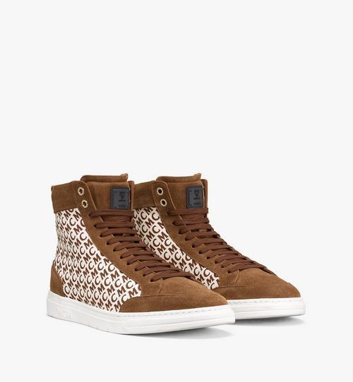 รองเท้าผ้าใบ Terrain Hi วัสดุผ้าใบลายโมโนแกรมแนวทแยงสำหรับผู้ชาย