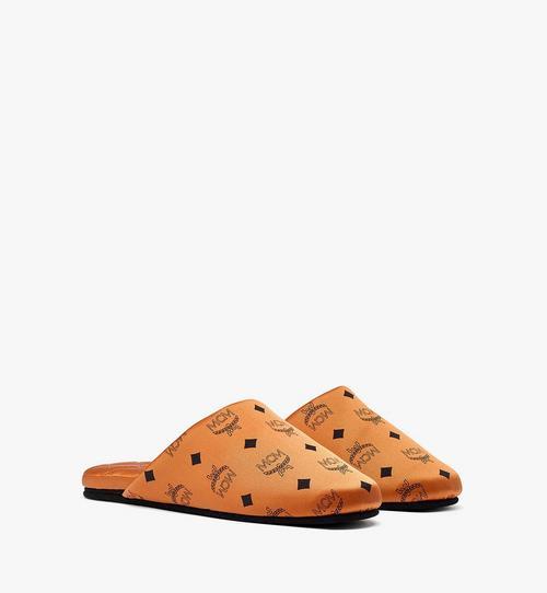 花押字真絲緞面拖鞋