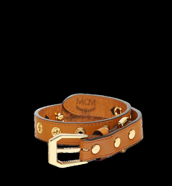 MCM Hundehalsband in Visetos Cognac MEZ7AVP04CO001 Alternate View 2