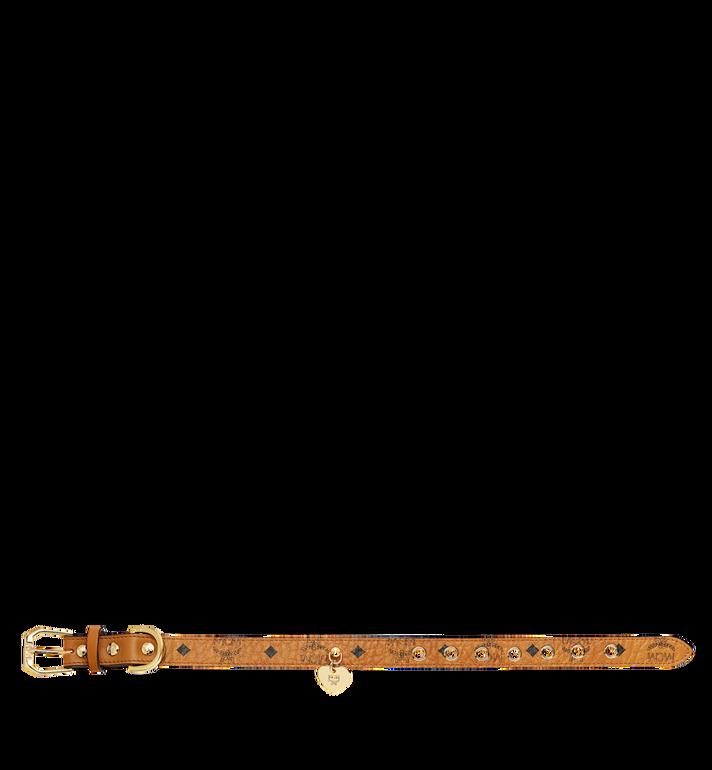 MCM Hundehalsband in Visetos Cognac MEZ7AVP04CO001 Alternate View 3