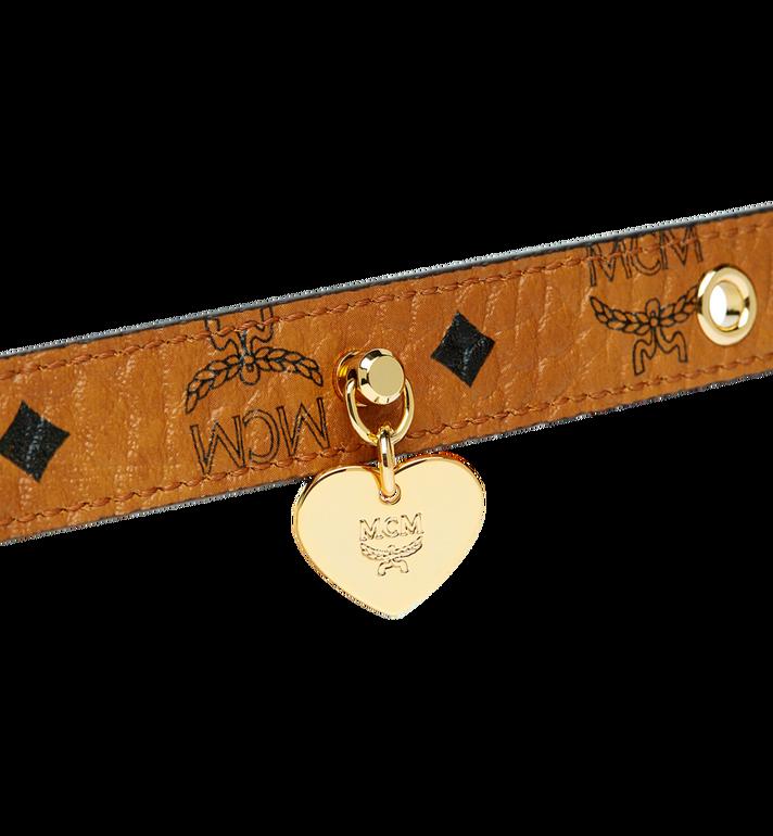 MCM Hundehalsband in Visetos Cognac MEZ7AVP04CO001 Alternate View 5