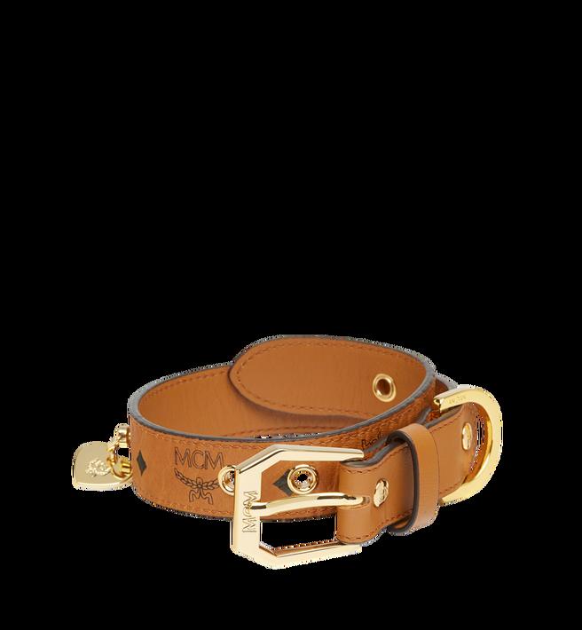 MCM Dog Collar in Visetos Alternate View
