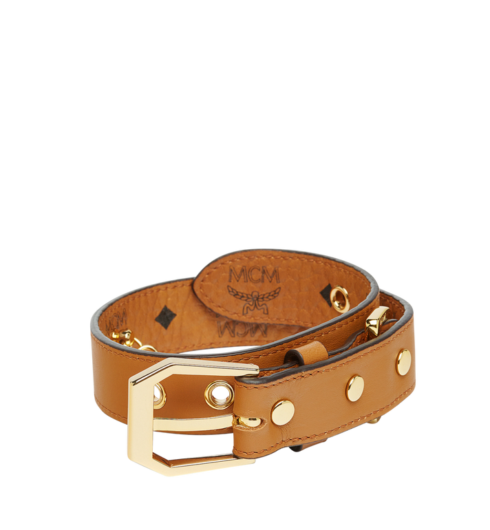 MCM Collier de chien à Visetos Cognac MEZ7AVP05CO001 Alternate View 2