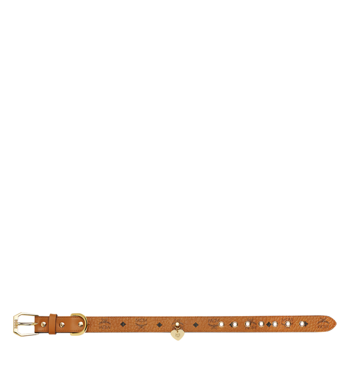 MCM Collier de chien à Visetos Cognac MEZ7AVP05CO001 Alternate View 3