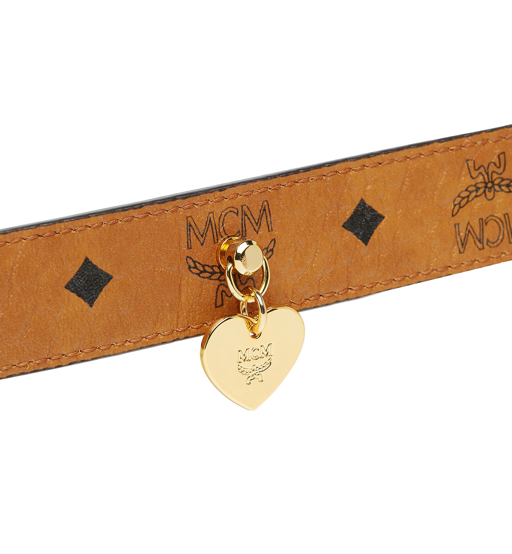 MCM Dog Collar in Visetos Cognac MEZ7AVP05CO001 Alternate View 5