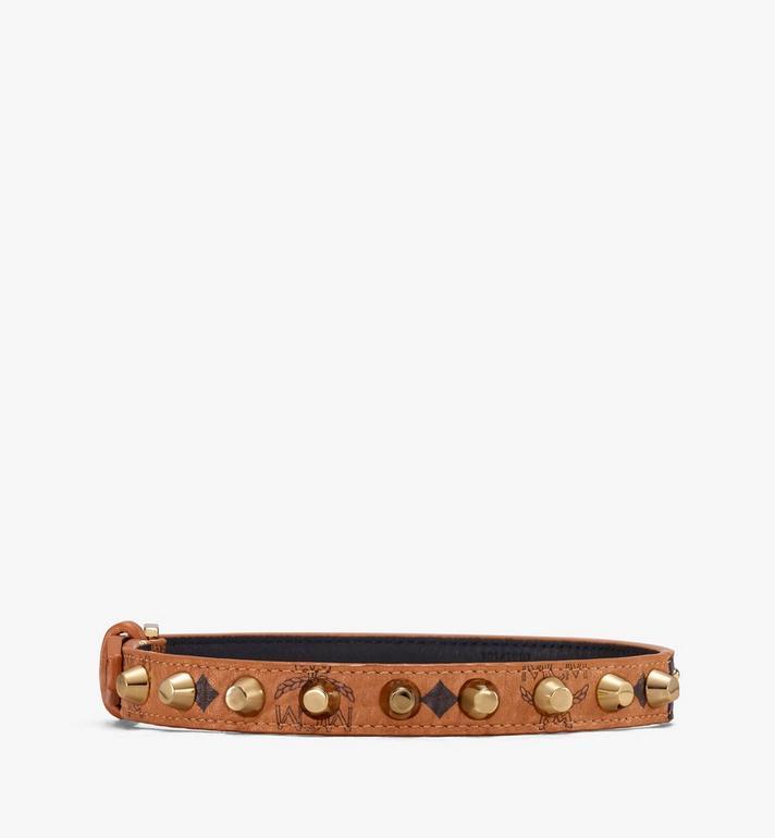 MCM Bracelets en cuir clouté Alternate View