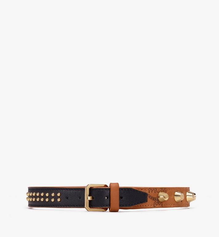 MCM Bracelets en cuir clouté  MEZ9AMM11CO001 Alternate View 2
