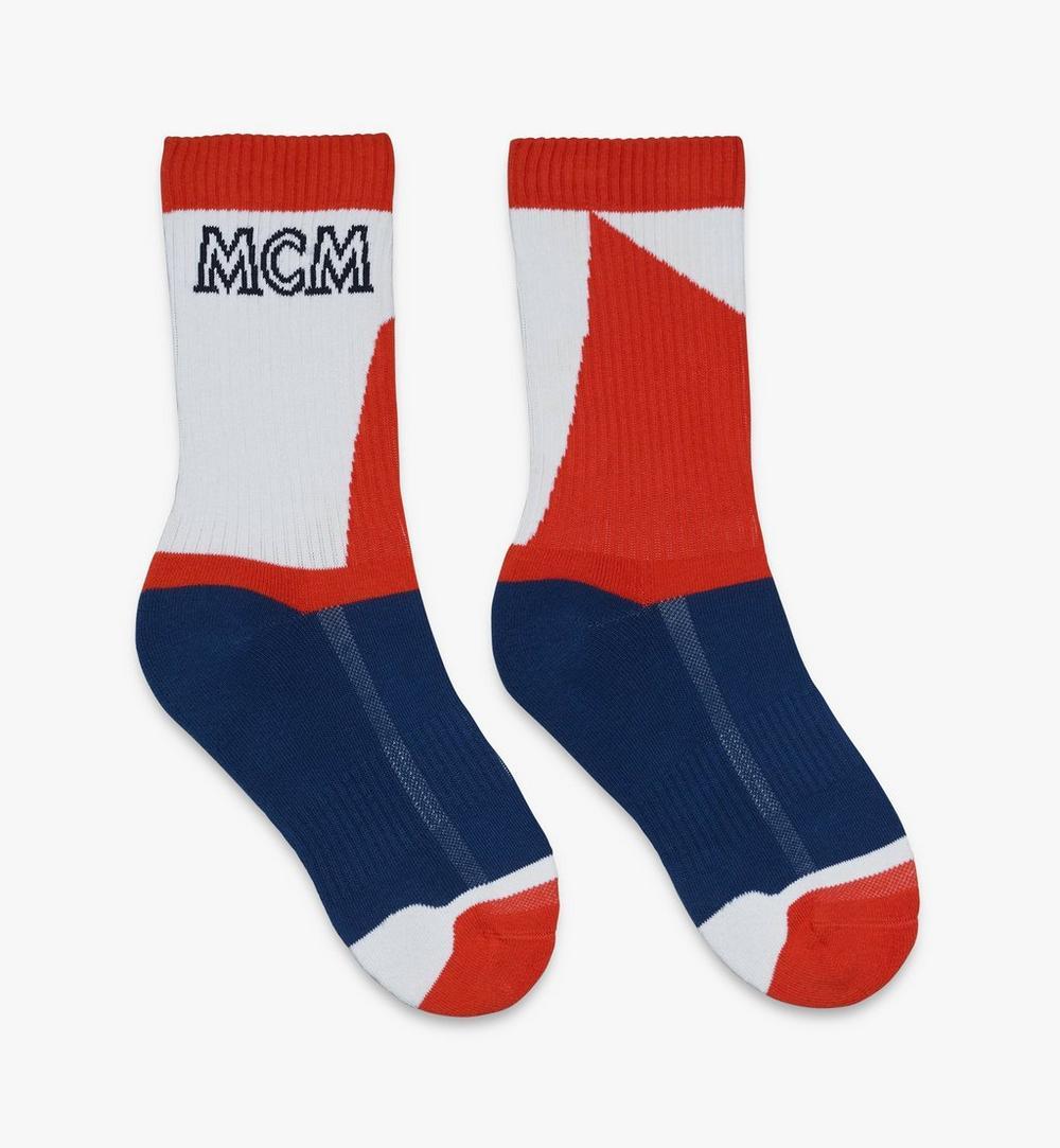 拼色綿襪 1