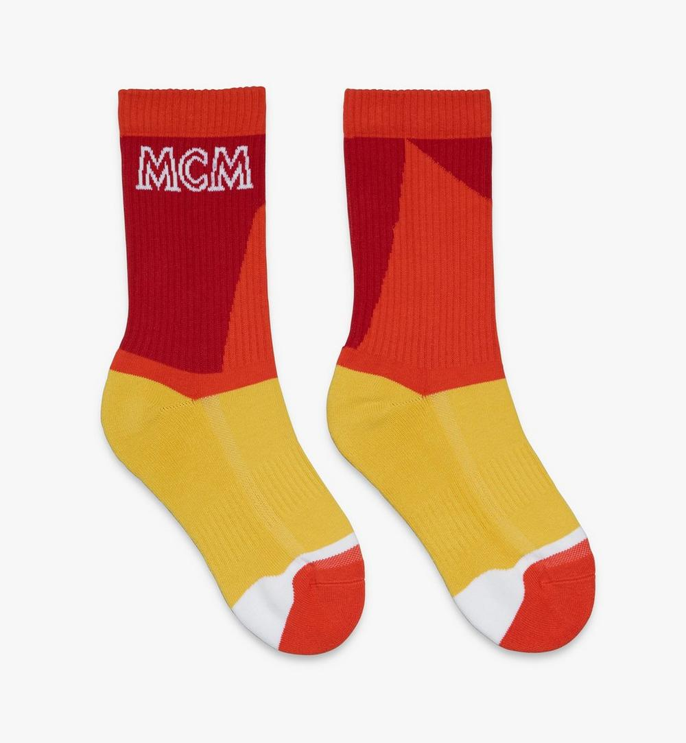 Colorblock Cotton Socks 1