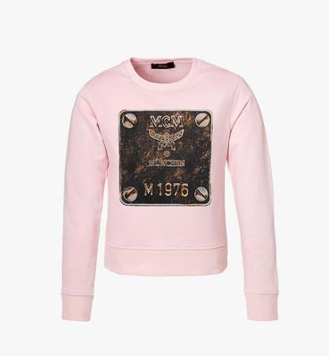 Women's Brass Plate Sweatshirt