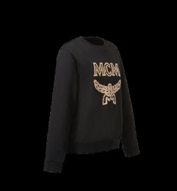 MCM Women's Logo Sweatshirt Black MFA8SMM13BK00L Alternate View 2
