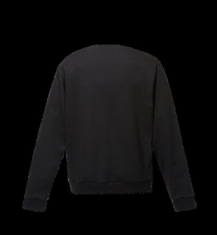 MCM Women's Logo Sweatshirt Black MFA8SMM13BK00M Alternate View 3