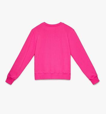 MCM Women's Logo Sweatshirt Pink MFA9AMM13QS00M Alternate View 2
