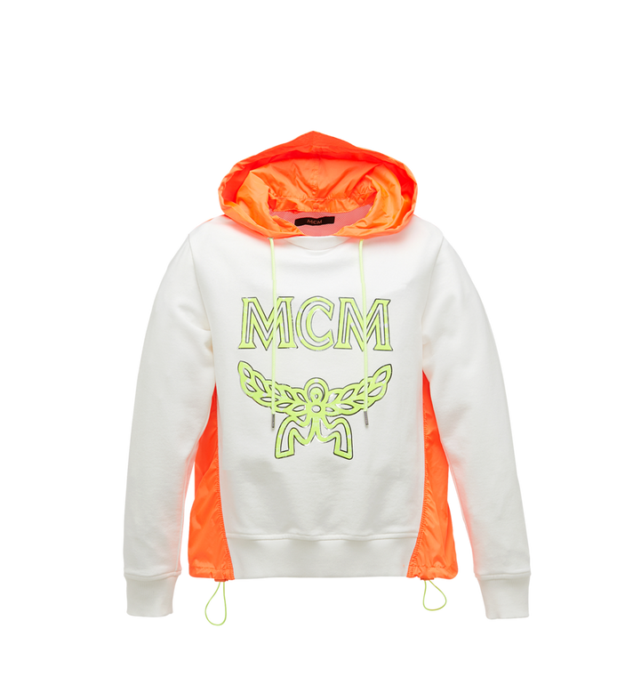 MCM Women's Webbed Nylon Hoodie Alternate View