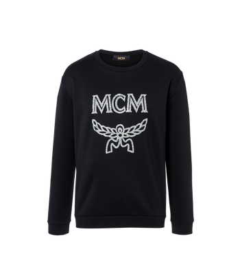 MCM Damen-Sweatshirt mit Crystal Detail Logo Alternate View