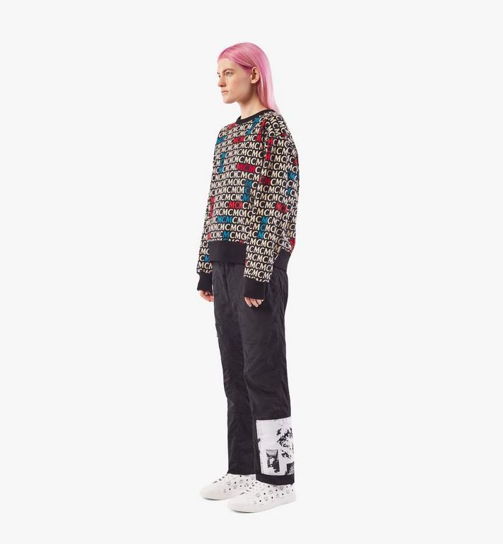 MCM เสื้อสเวตเชิ้ตลายโมโนแกรมสำหรับผู้หญิง Black MFAAAMD02MW00S Alternate View 4