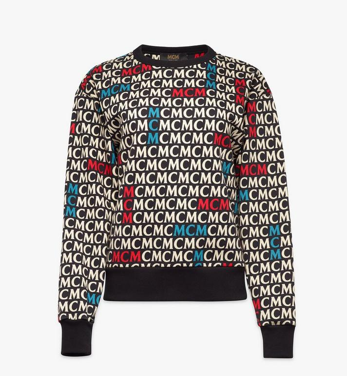 MCM เสื้อสเวตเชิ้ตลายโมโนแกรมสำหรับผู้หญิง Alternate View