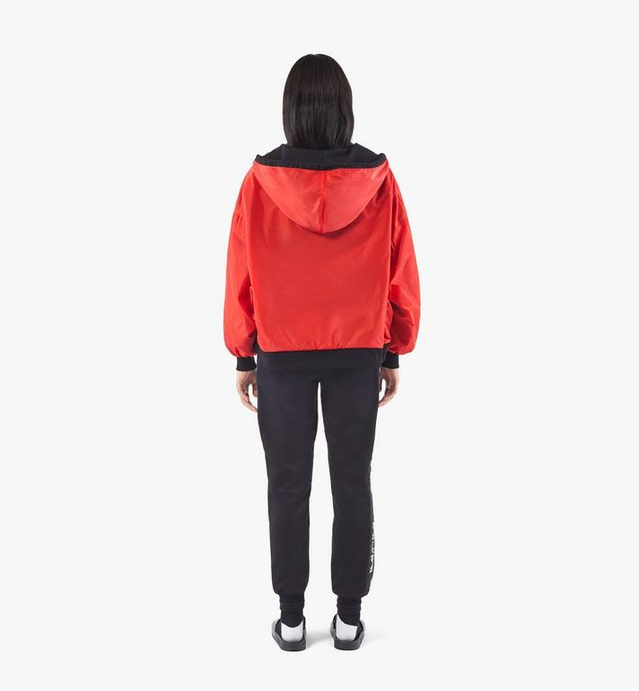 MCM Women's Reversible Zip Hoodie Black MFAAAMM06BK00S Alternate View 7
